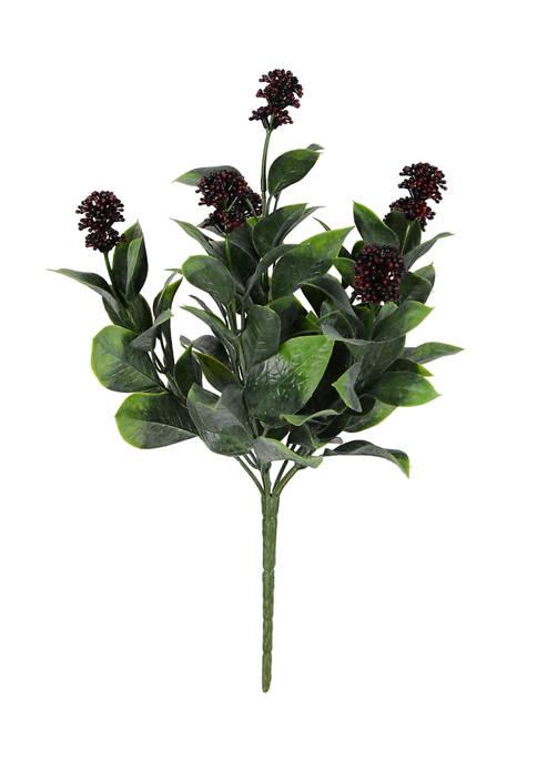 Vickerman Blueberry Ficus Bush UV Coated