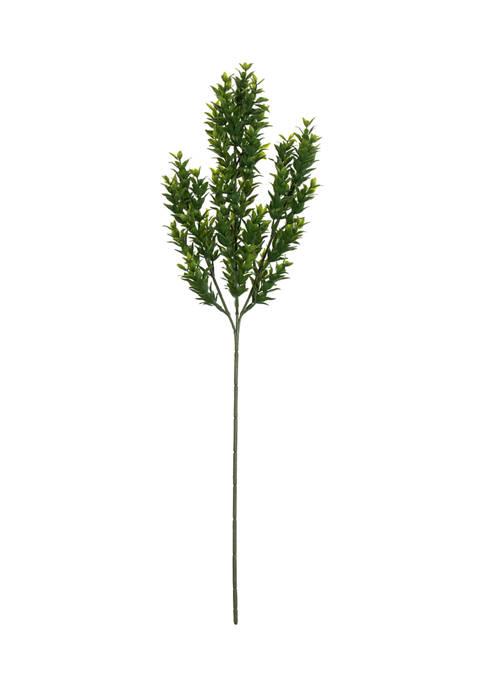 Vickerman Green Mini Leaf Bush