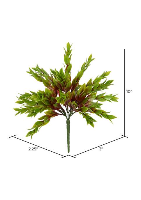 Green Mini Leaf Bush