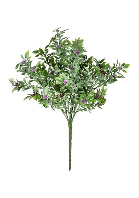 Purple Wildflower Bush