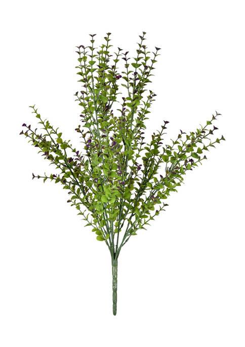Vickerman Green and Purple Eucalyptus Bush