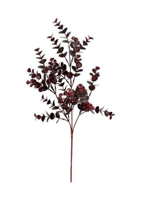 Vickerman Burgundy Eucalyptus Bush