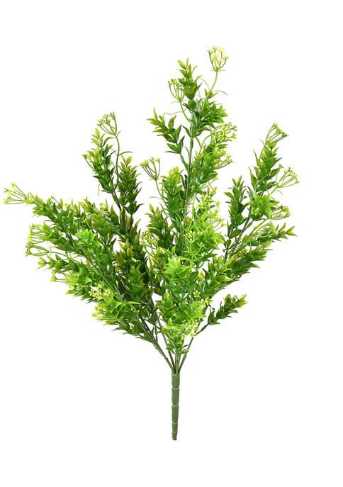 UV Coated Green Spirea Bush