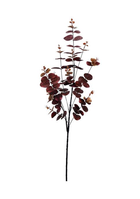 Vickerman Burgundy Money Leaf Spray