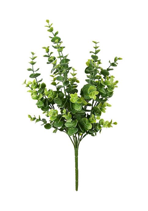 Green Mini Jade Leaf Bush UV Coated