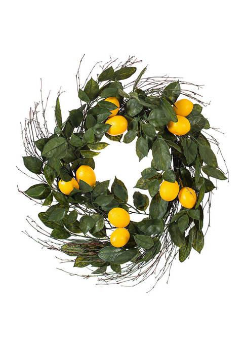 Salal Leaf Lemon Wreath