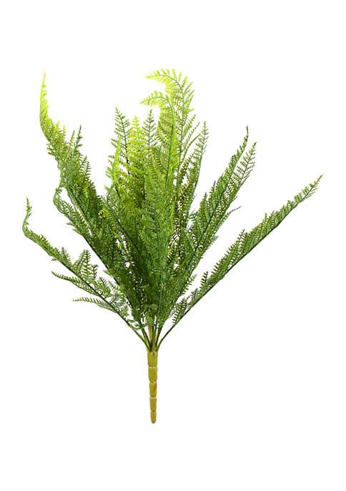 Vickerman Green Lace Fern Bush