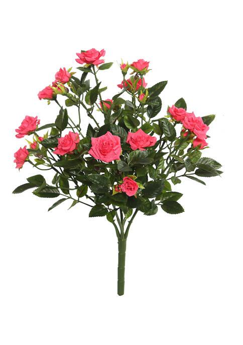 Vickerman Mini Diamond Rose Bush