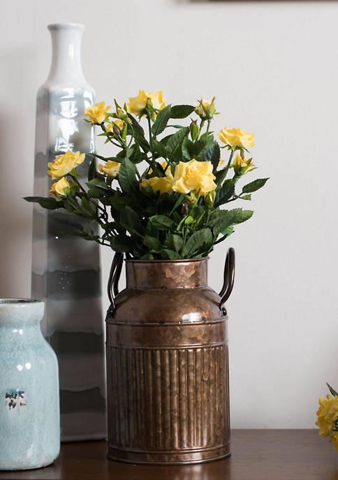 Yellow Mini Diamond Rose Bush