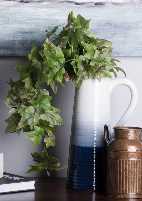 Vickerman Green Hanging Ivy Bush