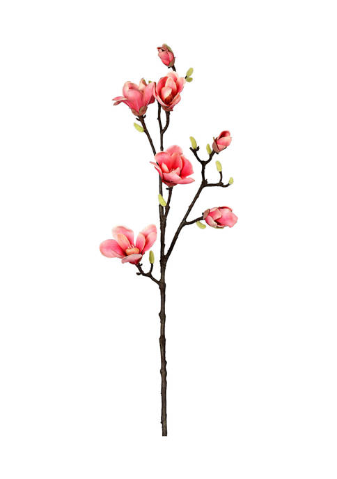 Vickerman Pink Magnolia Stem