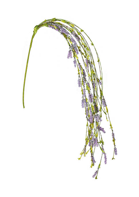 Vickerman Purple Thistle Berry Hang Stem