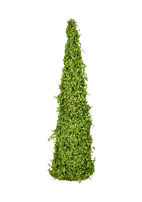 Vickerman Green Mini Leaves Cone