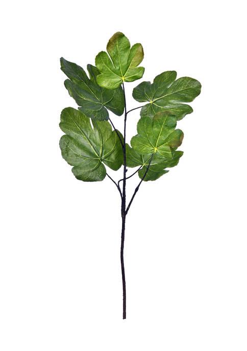 Vickerman Green Fig Leaf Spray