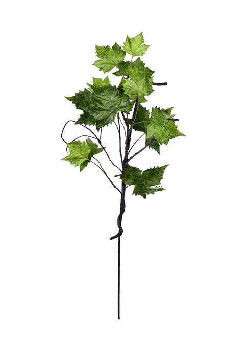 Vickerman Green Plantains Leaf Spray