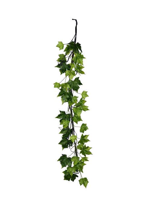 Vickerman Green Plantanus Leaf Garland
