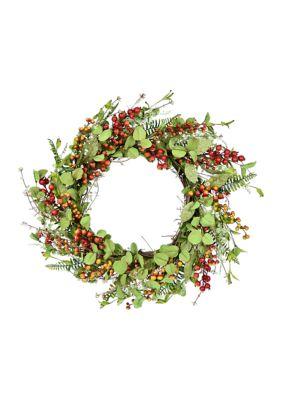 Vickerman Mixed Fall Wreath