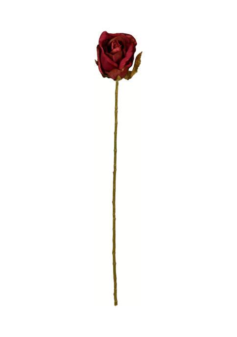 Vickerman Burgundy Rose Stem