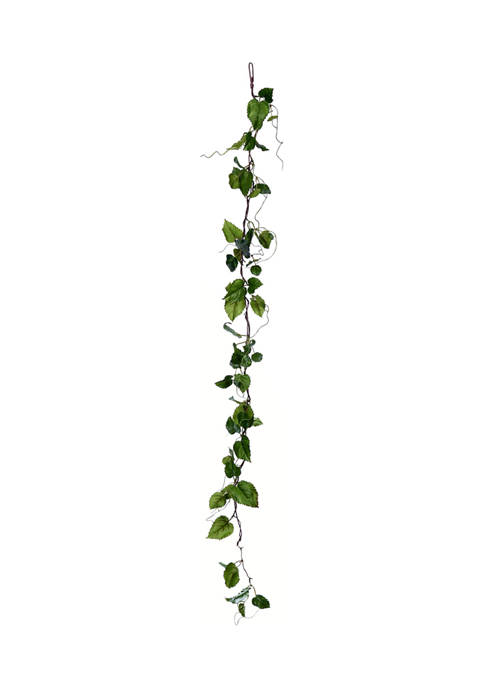 Green Hop Leaf Garland - Set of 2
