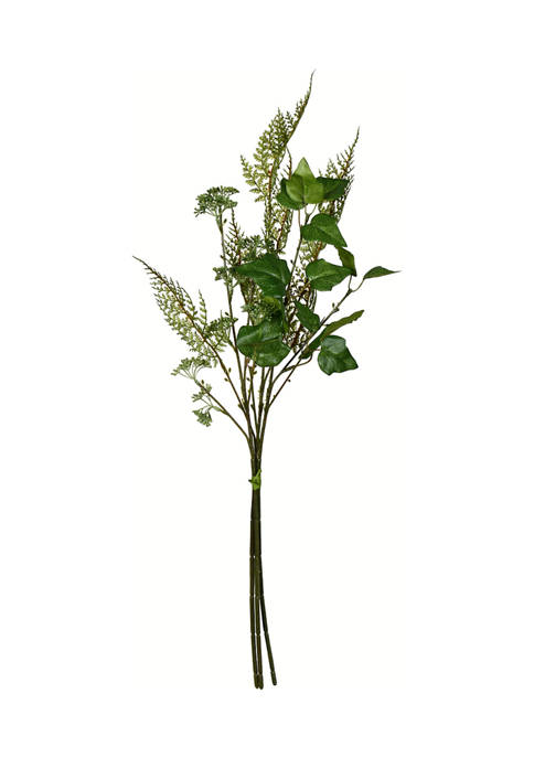 Vickerman Green Mixed Greenery Bundle