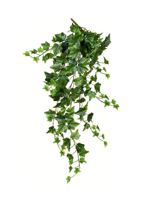 Vickerman Green Ivy Hanging Bush