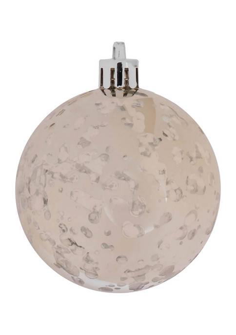 Vickerman Shiny Champagne Ball Ornament