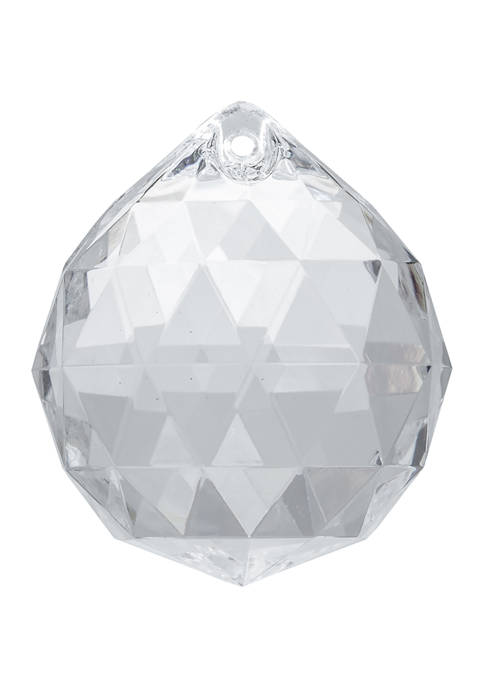 Clear Ball Ornament