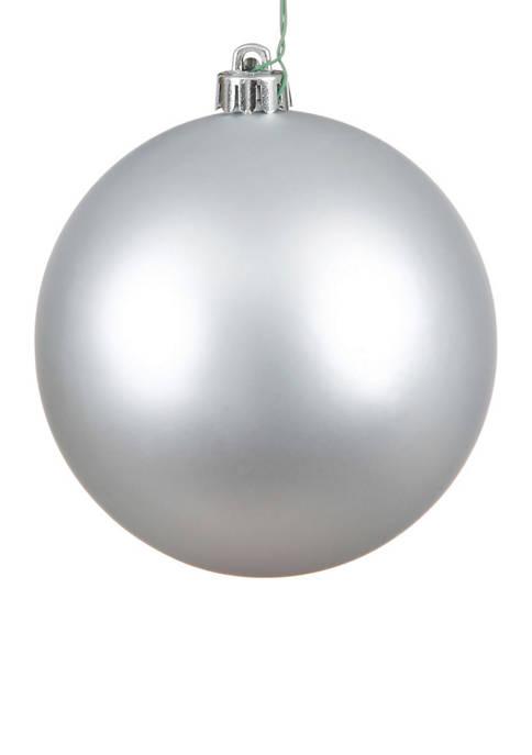 Vickerman Set of 12 Matte Ball Ornaments