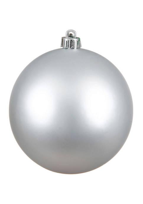 Matte Ball Ornament