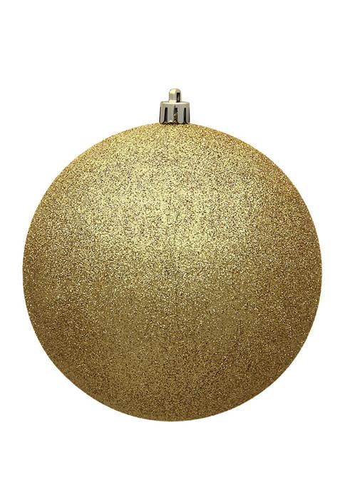 Vickerman Set of 12 Glitter Ball Ornaments