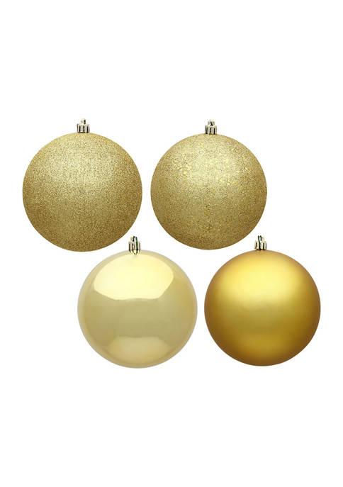 Vickerman Set of 12 Ball Ornaments