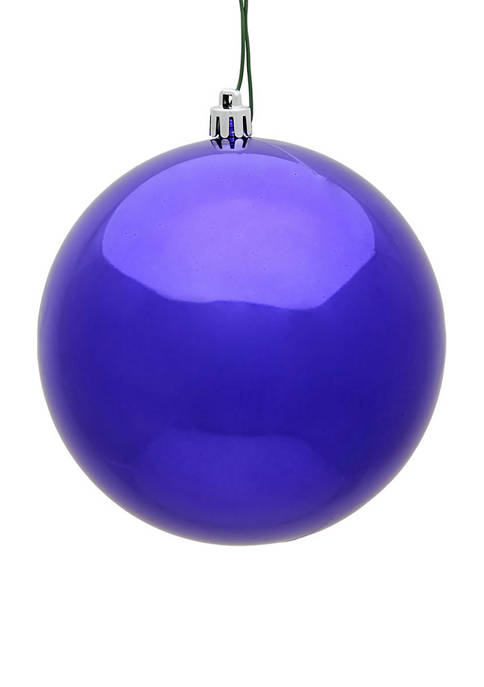 Shiny Purple Ball Ornaments