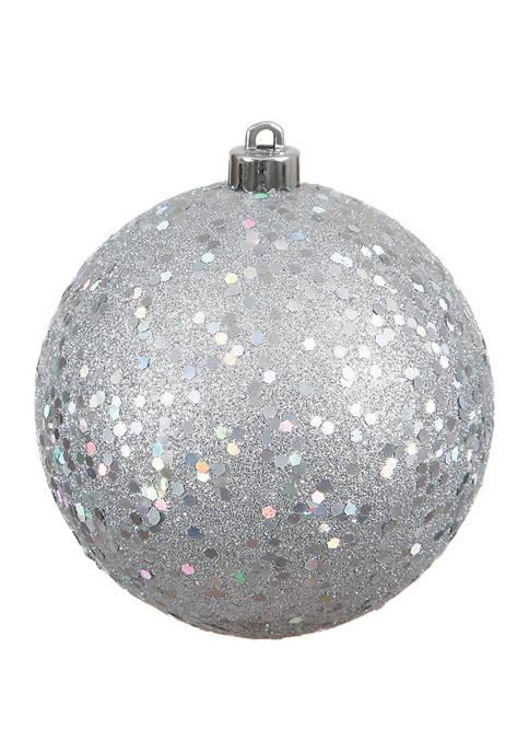 Vickerman 6 Inch Sequin Ball Ornaments
