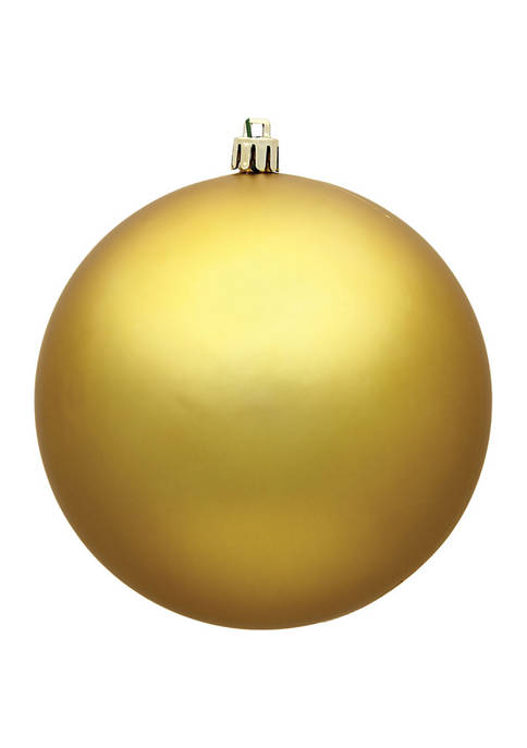 Vickerman Matte Ball Ornament