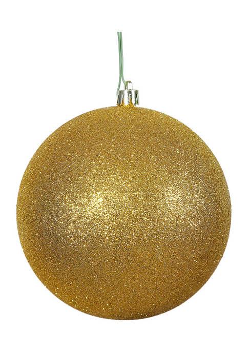 Vickerman 6 Inch Glitter Ball Ornaments