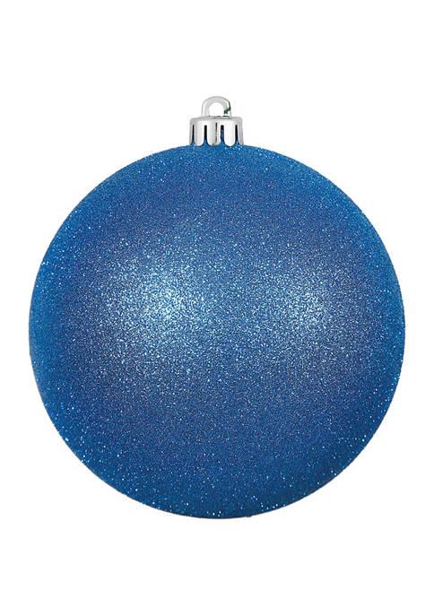Vickerman Blue Glitter Ball Ornament
