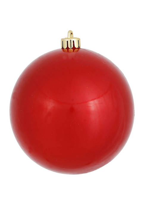 Vickerman Candy Red Ball Ornament