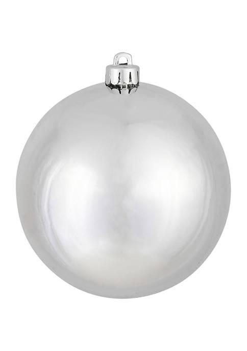 Silver Ball Ornament