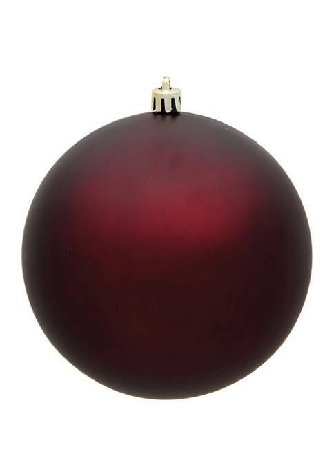 Vickerman Matte Ball Ornament