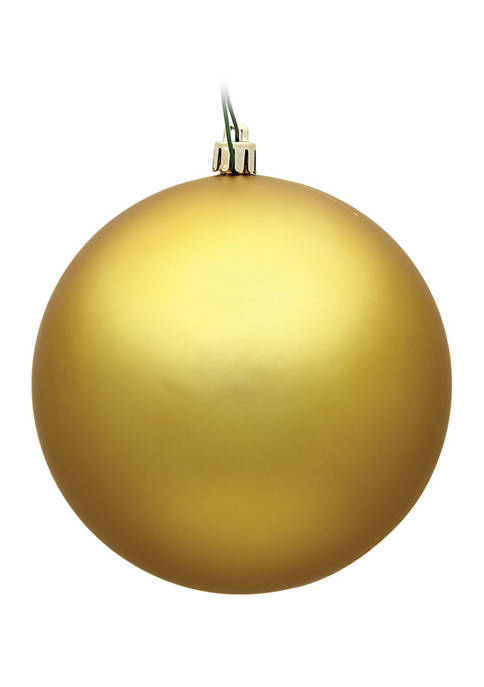 Matte Ball Ornament
