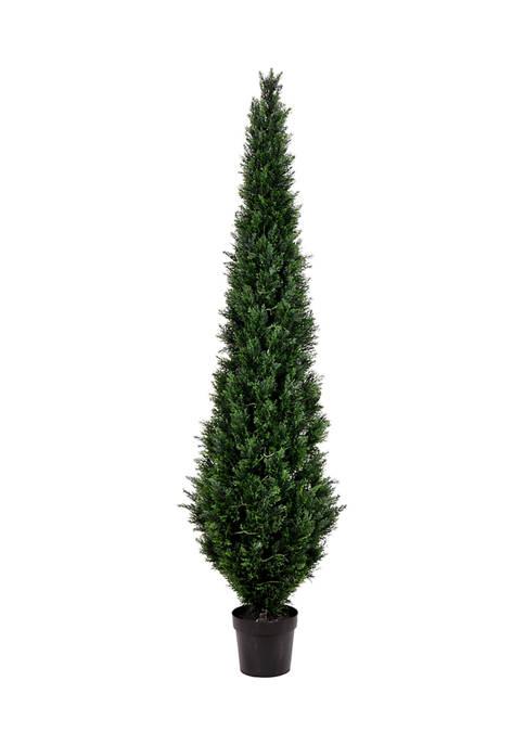 Vickerman Potted Green Cedar Tree
