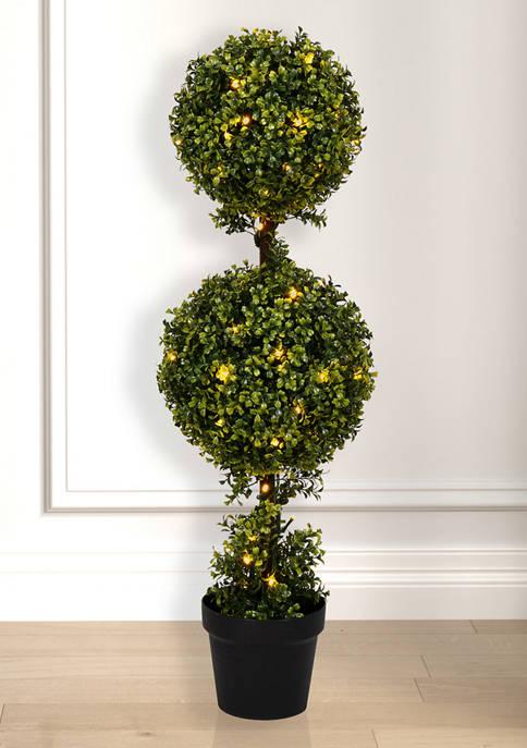 Vickerman Double Ball Boxwood Topiary