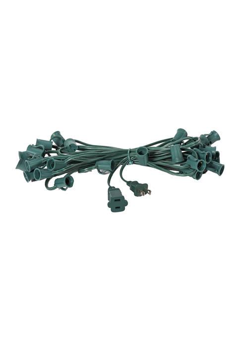 Socket String Gauge Green Wire