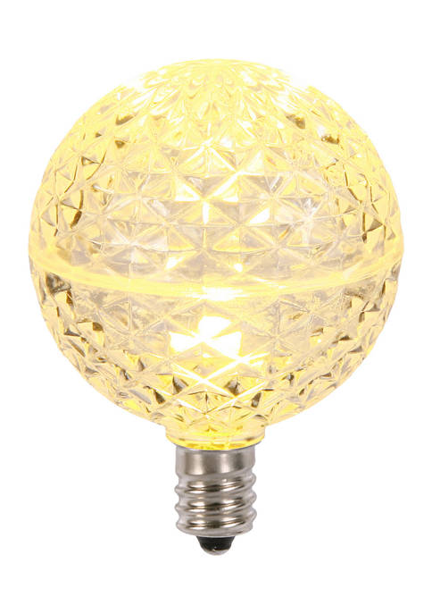 Vickerman Warm White Faceted LED Replacement Bulbs