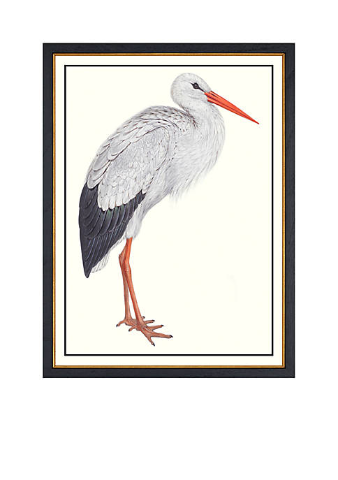 Biltmore® White Stork Archival Framed Art Print