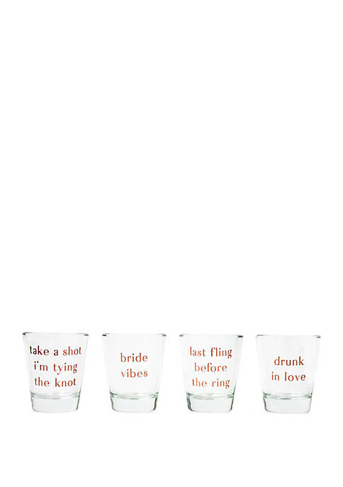 Bridal Collection Short Glasses