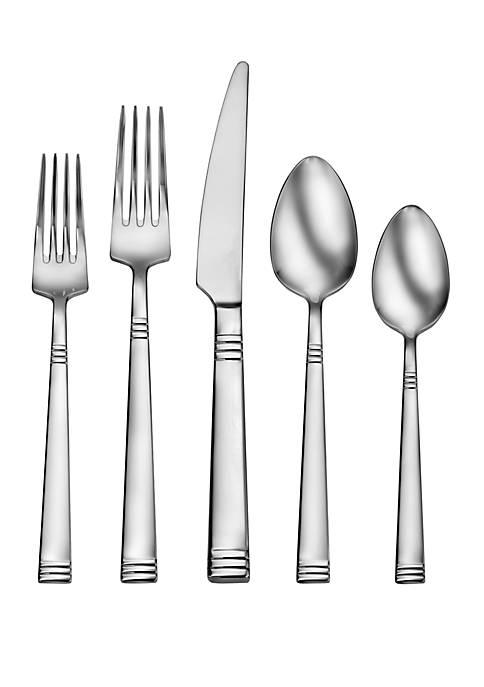 Living By Robinson Nash 50 Piece Flatware Set