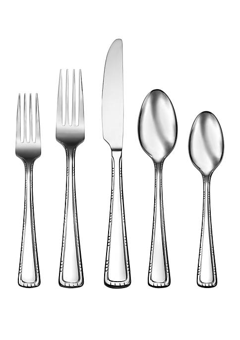 Living By Robinson Conway 50 Piece Flatware Set