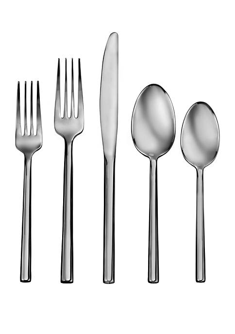 Living By Robinson Satin Hemway 50 Piece Flatware