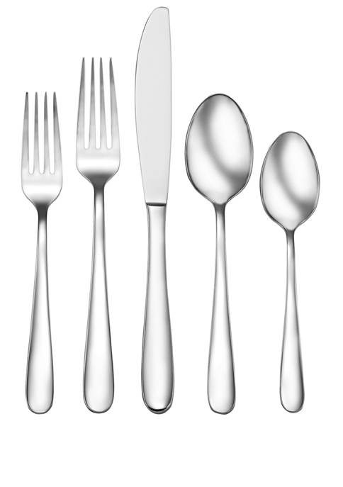 Living By Robinson Alberry 62 Piece Flatware Set